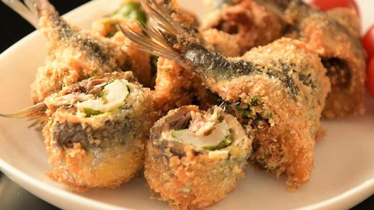 【ノンストップ】シシトウ丸ごと くるくるイワシフライのレシピ。クラシルで話題のししとう料理(7月14日)