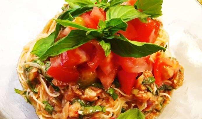 【土曜は何する】イタリアそうめんのレシピ。ソーメン二郎さんの無限そうめんアレンジ(7月17日)