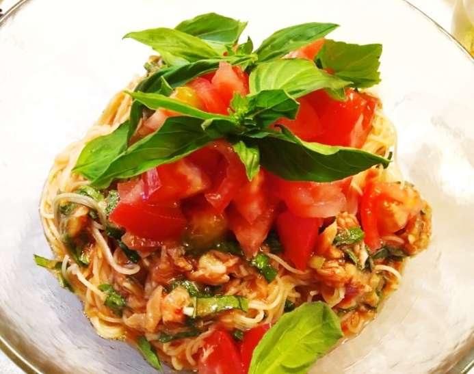 土曜はなにするイタリアンそうめんレシピ