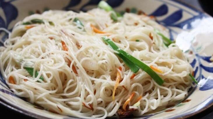 【ラヴィット】和風ペペロンチーノのレシピ。サバ缶で絶品!ミシュランシェフの10分2品レシピ【ラビット】(7月1日)