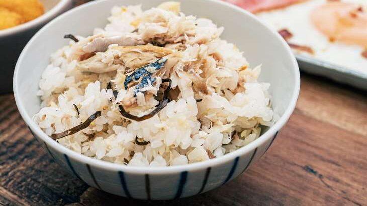 【男子ごはん】サバ缶とねぎの旨煮ぶっかけ飯のレシピ。夏のぶっかけ飯(8月15日)