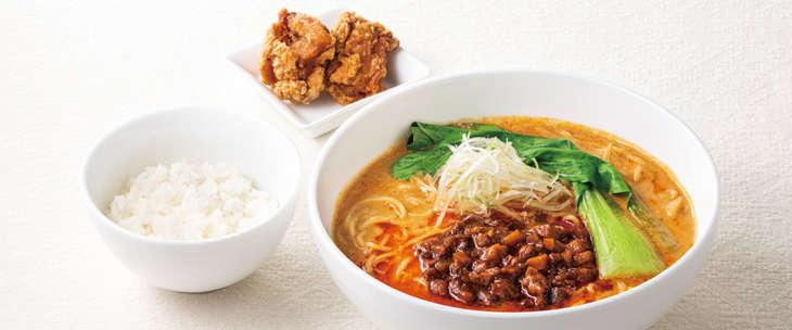 胡麻香る四川風担々麺 988円(税込)