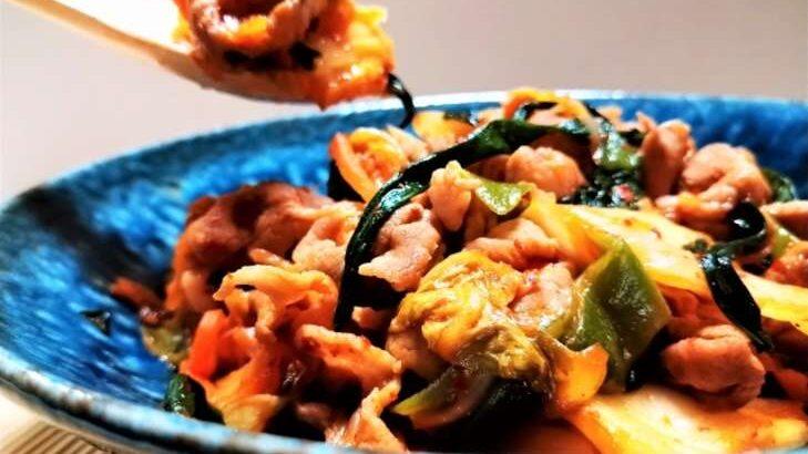 【ヒルナンデス】キムチにら玉カレーのレシピ印度カリー子さんのレンチンスパイスカレー(8月19日)
