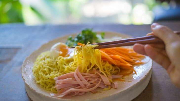 【土曜は何する】台湾版冷やし中華リャンメンのレシピ(8月28日)