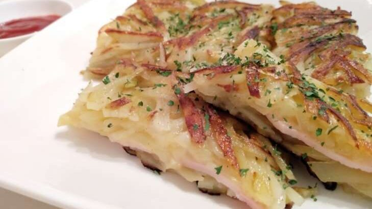 【王様のブランチ】そうめんとじゃがいものチーズガレットのレシピ(8月28日)