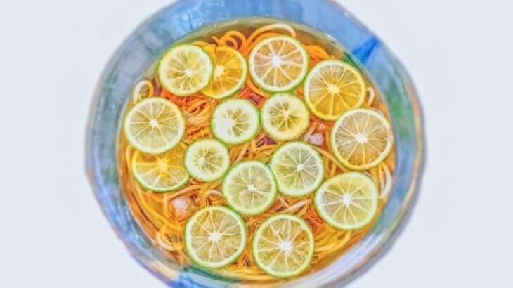 【家事ヤロウ】すだちそうめんのレシピ。名店のそうめんアレンジレシピ(8月17日)