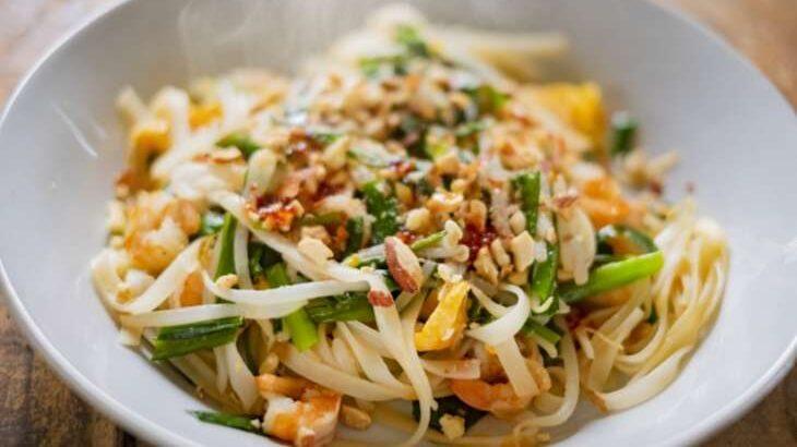 【ヒルナンデス】タイ風焼きそばパッタイのレシピ業務田スー子さんの激安料理