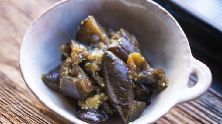 【あさイチ】秋なすと豚肉のごまみそ炒めのレシピ(9月16日)