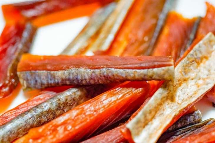 あさいち鮭の燻製