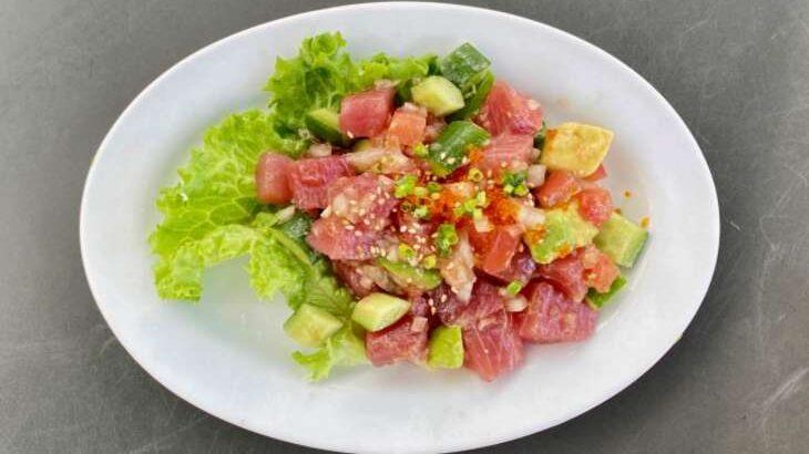 【ウワサのお客さま】まぐろのカルパッチョ風サラダのレシピ。時短クイーンの節約料理(9月3日)