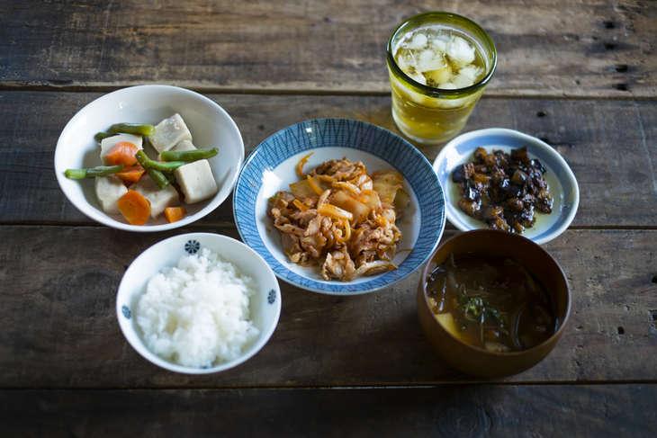 ノンストップチンゲンサイと豆腐の煮物