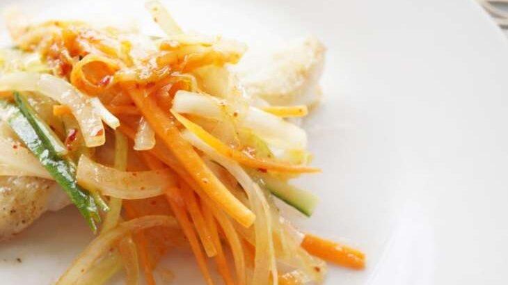 【ノンストップ】カボス香る鶏むね肉の南蛮漬けのレシピ(9月8日)