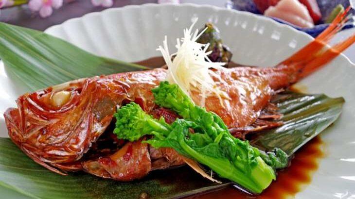 【ラヴィット】伊豆金目鯛の丸ごと煮付けの通販お取り寄せ。【ラビット】(9月9日)