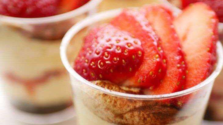 【ウワサのお客さま】あんことクリームチーズのティラミス風のレシピ。時短クイーンの節約料理(9月3日)